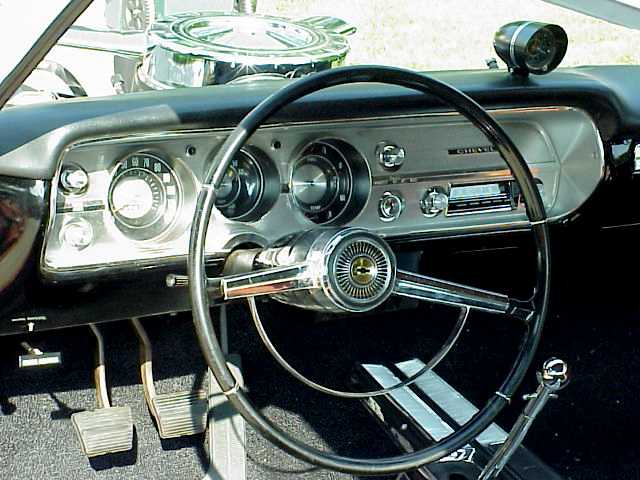 1965 4 Speed Console Chevelle Tech